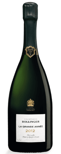Bollinger La Grande Année Champagne  2012