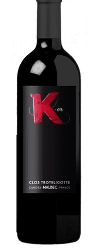 Clos Troteligotte 'K-or', Cahors 2018 75cl