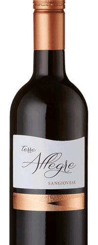 6 x Terre Allegre, Sangiovese, Italy, 2019 - CLEARANCE